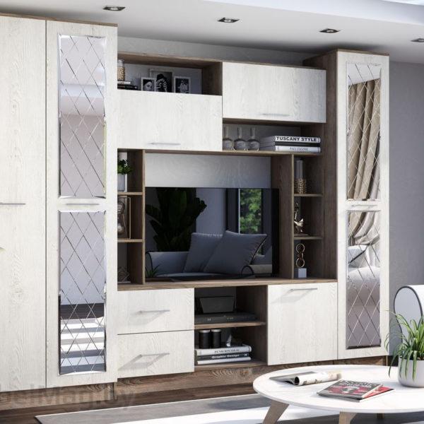 Гостиная Амаретти от SV-Мебель в Донецке интернет-магазин Коломбо