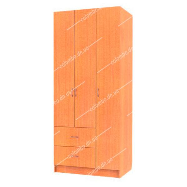 """Шкаф распашной 3-ёх створчатый с ящиками, мф """"ArteX"""""""