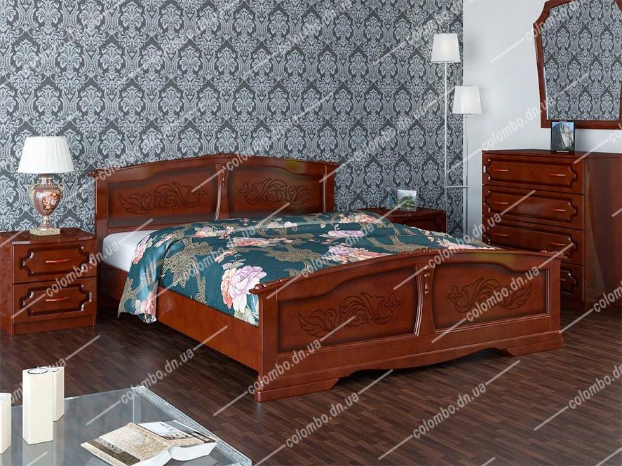 Кровать Елена Браво мебель Донецк Макеевка ДНР Colombo