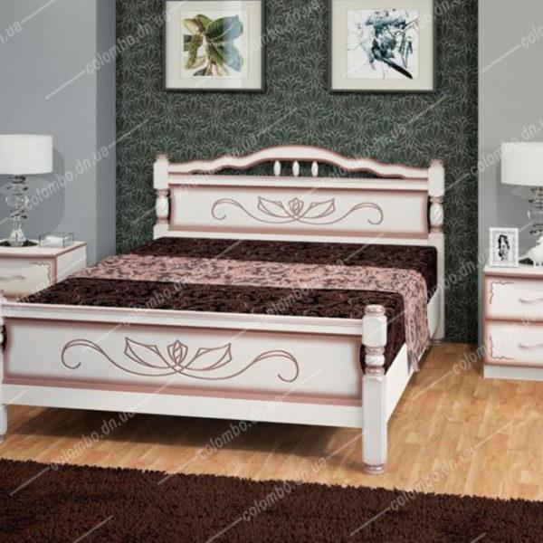 Кровать Карина-5 Дуб молочный Донецк Макеевка ДНР Colombo