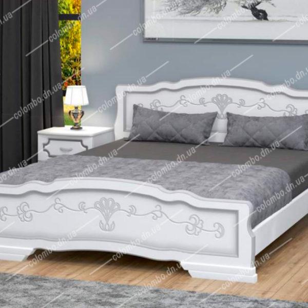 Кровать Карина-6 Белый жемчуг Браво мебель Донецк Макеевка ДНР Colombo