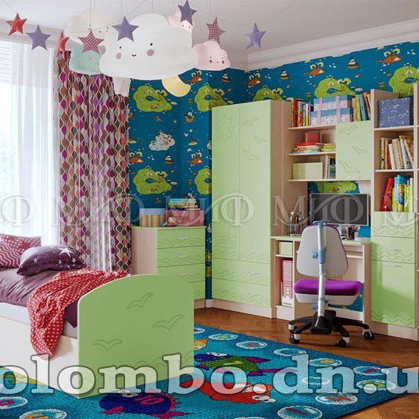 """Детская мебель """"Юниор-2"""" МДФ матовый, мф """"МиФ"""""""