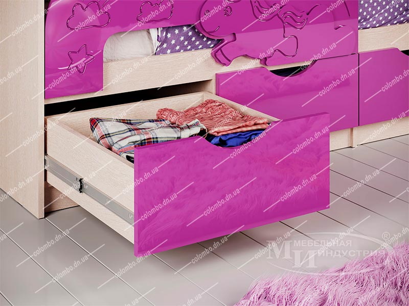 Детская кровать 3D Эксклюзив