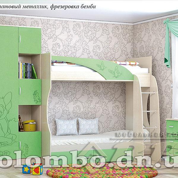 """Детская мебель """"Беби-2"""" МДФ"""