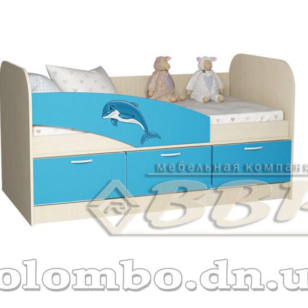 """Детская кровать """"Дельфин"""", мф """"ВВР"""""""