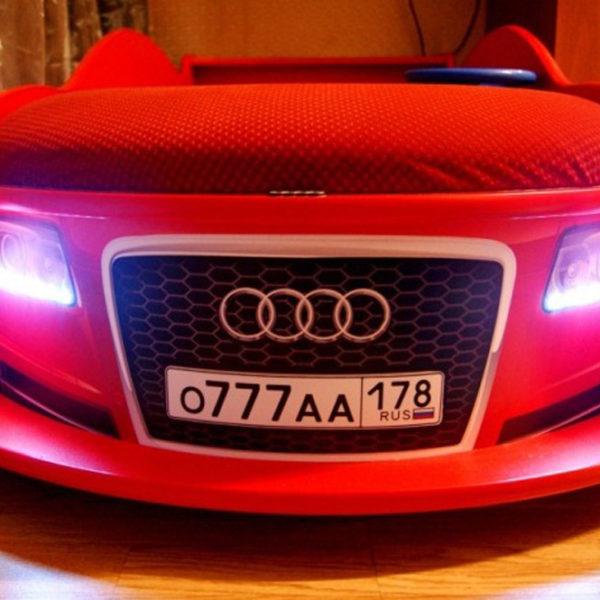 Индивидуальный номер на кроватке-автомобиле
