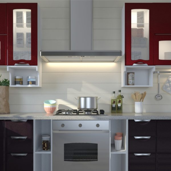 "Кухня ""Равенна Вива Бордо/Фиолетовый"""