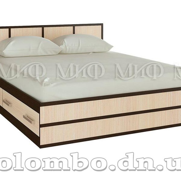 """Двуспальная кровать """"Сакура"""", мф """"Миф"""""""