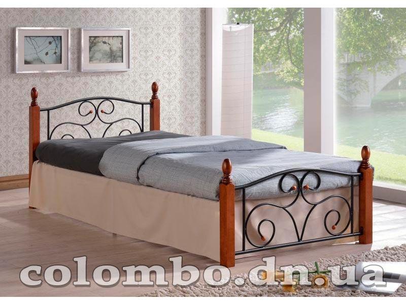 Кровать односпальная кованная 90
