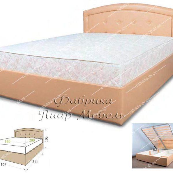 Кровать Моника Пиар мебель Донецк Макеевка ДНР Colombo