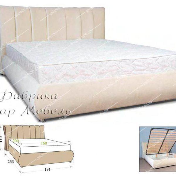 Кровать Николетта Пиар мебель Донецк Макеевка ДНР Colombo