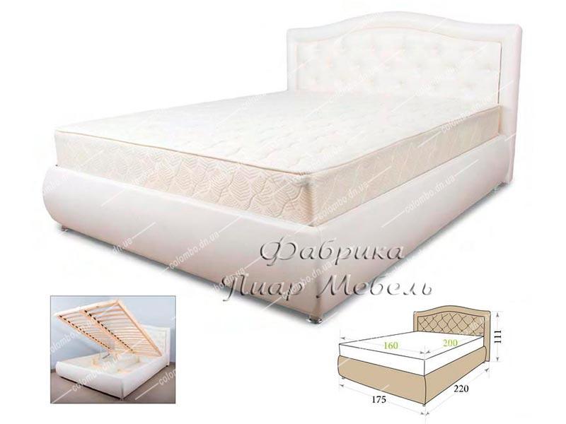 Кровать Мила Пиар мебель Донецк Макеевка ДНР Colombo