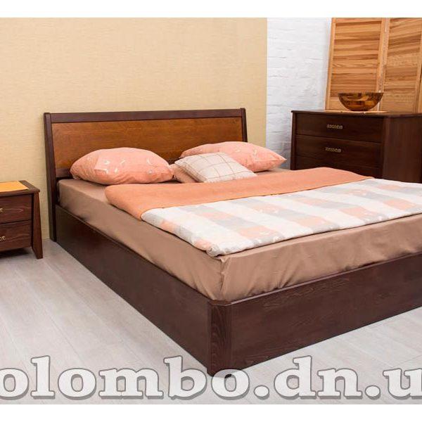 Кровать Сити с интарсией