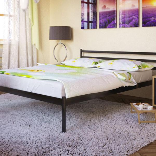 Кровать двуспальная металлическая Fly-1 Метакам Донецк Макеевка ДНР Colombo