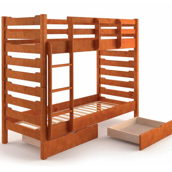 """Двухъярусная деревянная кровать """"Троя"""""""