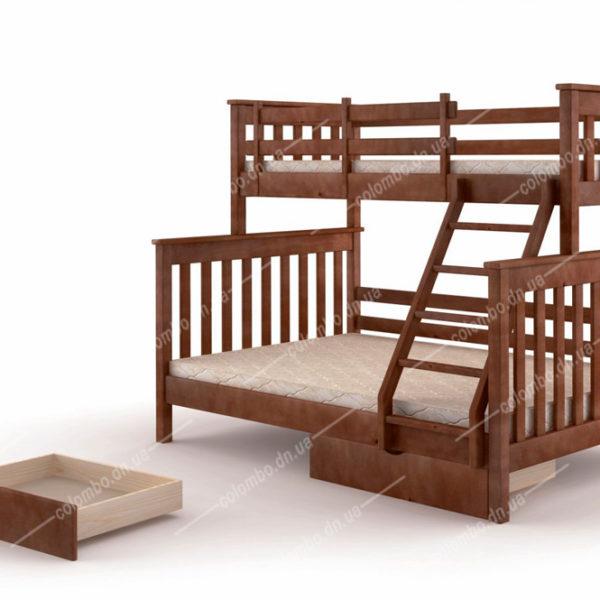 """Двухъярусная кровать """"Скандинавия"""""""
