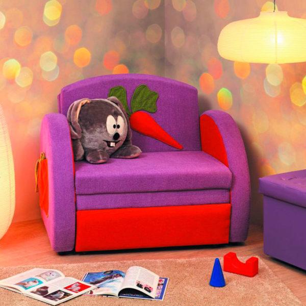 Детский диван-тахта Мася-8 Кролик Олмеко Донецк ДНР Colombo