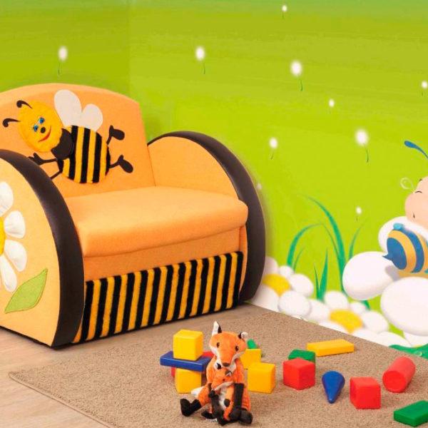 Детский диван-тахта Мася-8 Пчёлка Олмеко Донецк ДНР Colombo