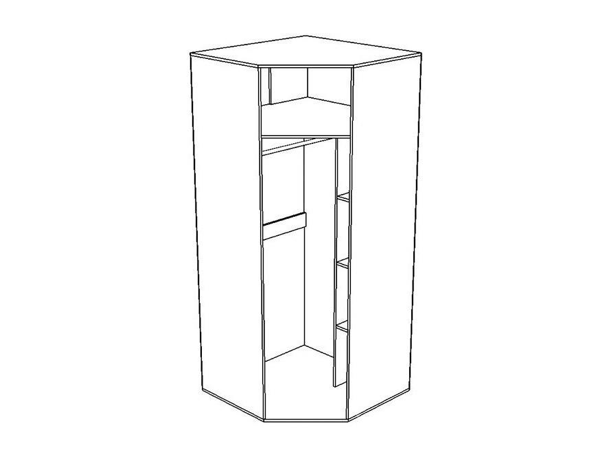 Шкаф угловой Вегас