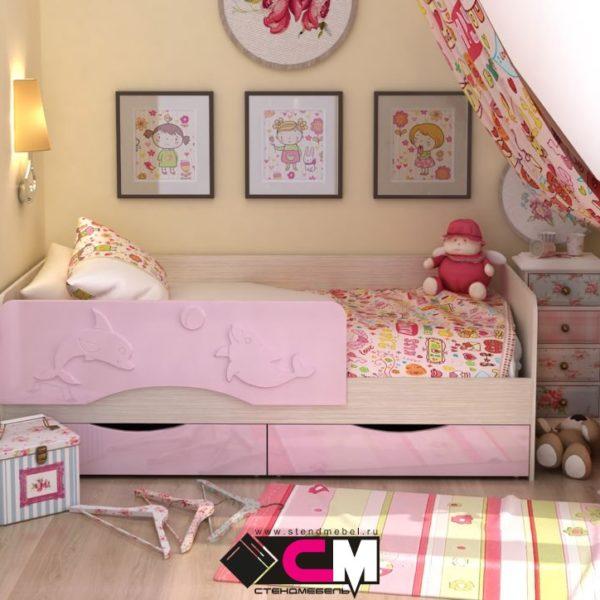 Детская кровать Алиса стендмебель Донецк Макеевка ДНР Colombo