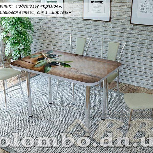 Стол стеклянный прямоугольный с фотопечатью ВВР Донецк Макеевка ДНР Colombo