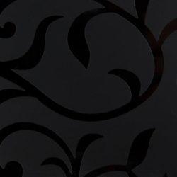 0010 Flower Цветы черные Flower