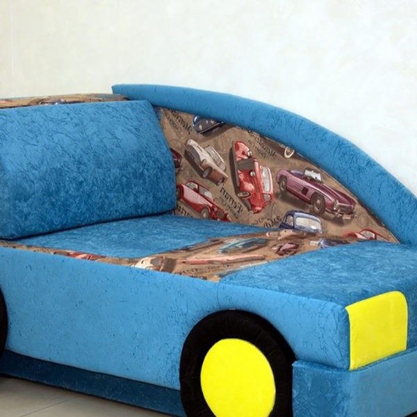 Детский диван Машина