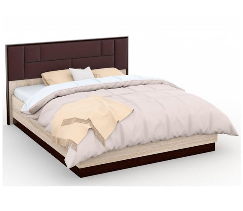 """Двуспальная кровать с ПМ """"Эшли"""" МИ"""