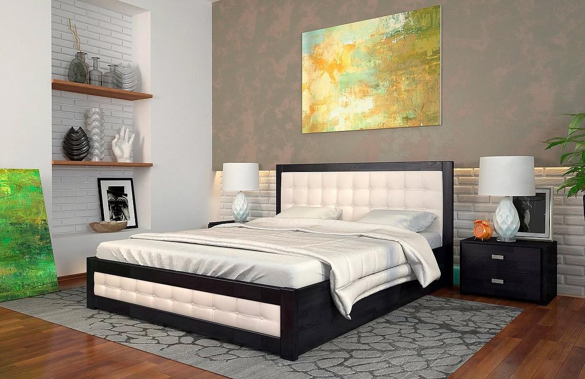 двуспальная деревянная кровать рената Д Woodmarket 24 Донецк ДНР Colombo