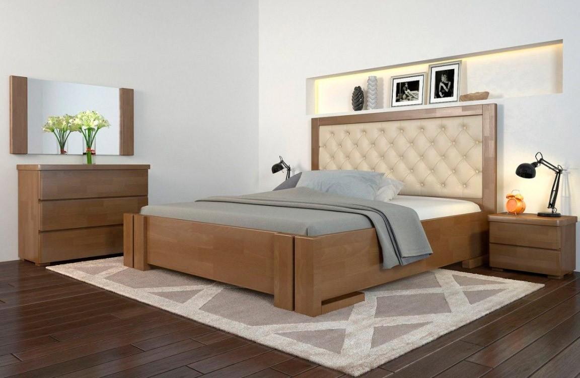 двуспальная деревянная кровать амбер Woodmarket 24 Донецк ДНР Colombo