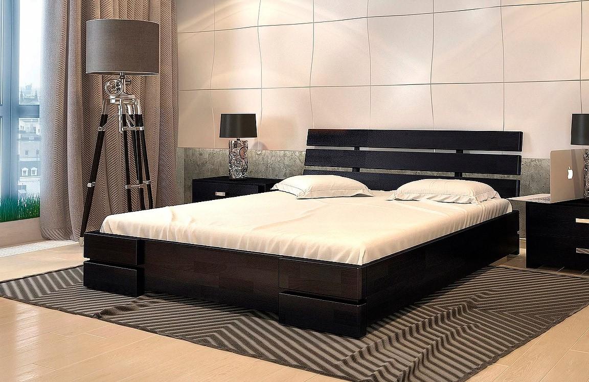 двуспальная деревянная кровать Дали Люкс Woodmarket 24 Донецк ДНР Colombo