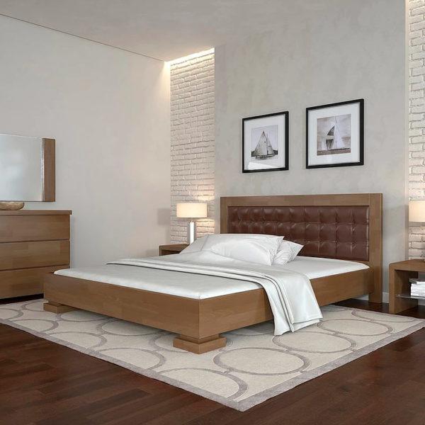 двуспальная деревянная кровать монако Woodmarket 24 Донецк ДНР Colombo