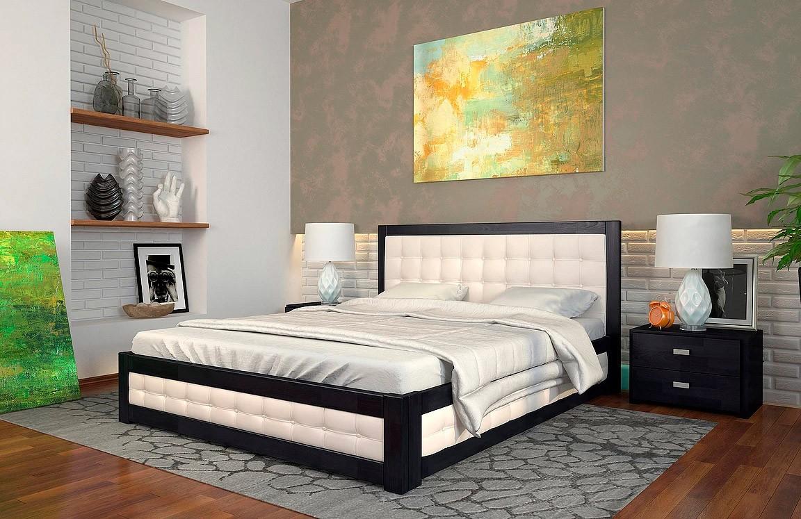 двуспальная деревянная кровать рената м Woodmarket 24 Донецк ДНР Colombo
