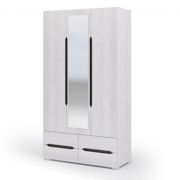 Шкаф 3х створчатый с ящиком Валенсия в Донецке интернет-магазин Коломбо