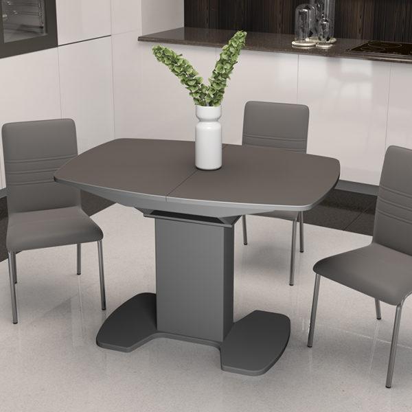 Стол обеденный Портофино Серый lux 1100 Три Я Донецк Макеевка ДНР Colombo