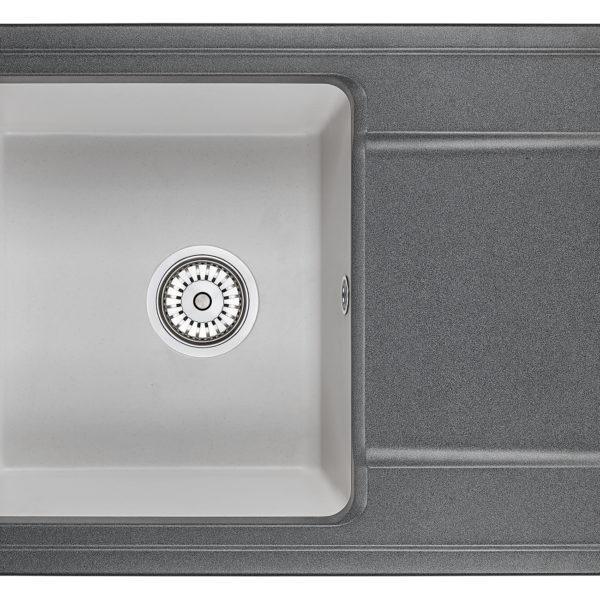 Кухонная мойка Granula HIBRID HI-74
