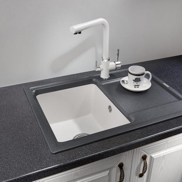 Кухонная мойка Granula HIBRID HI-65 Донецк ДНР Colombo