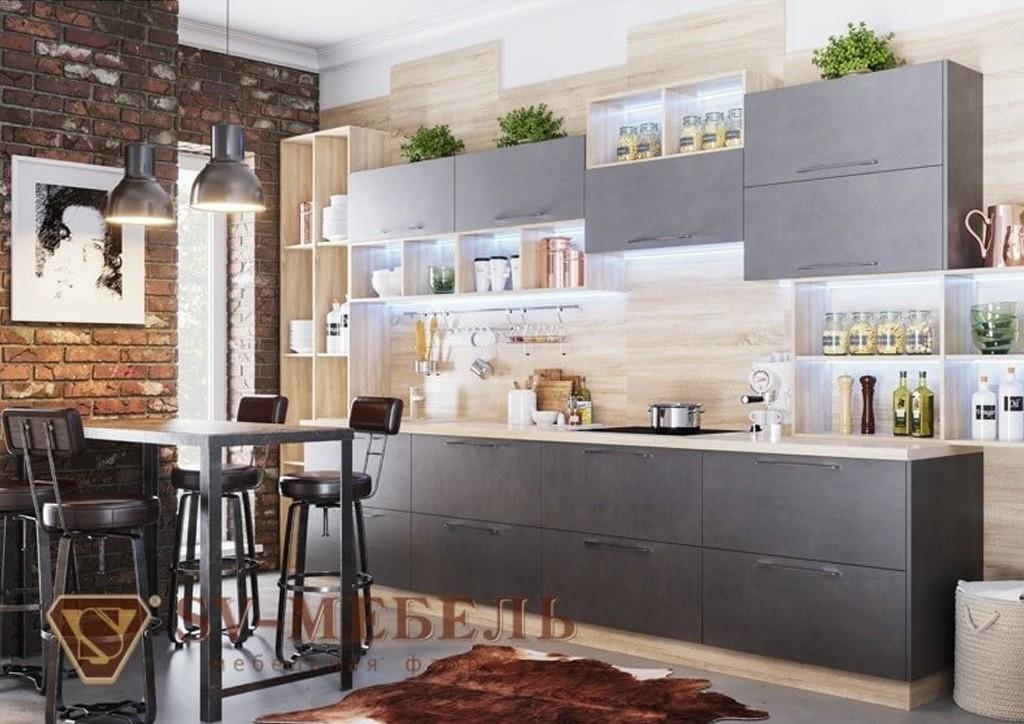 Кухня Лофт