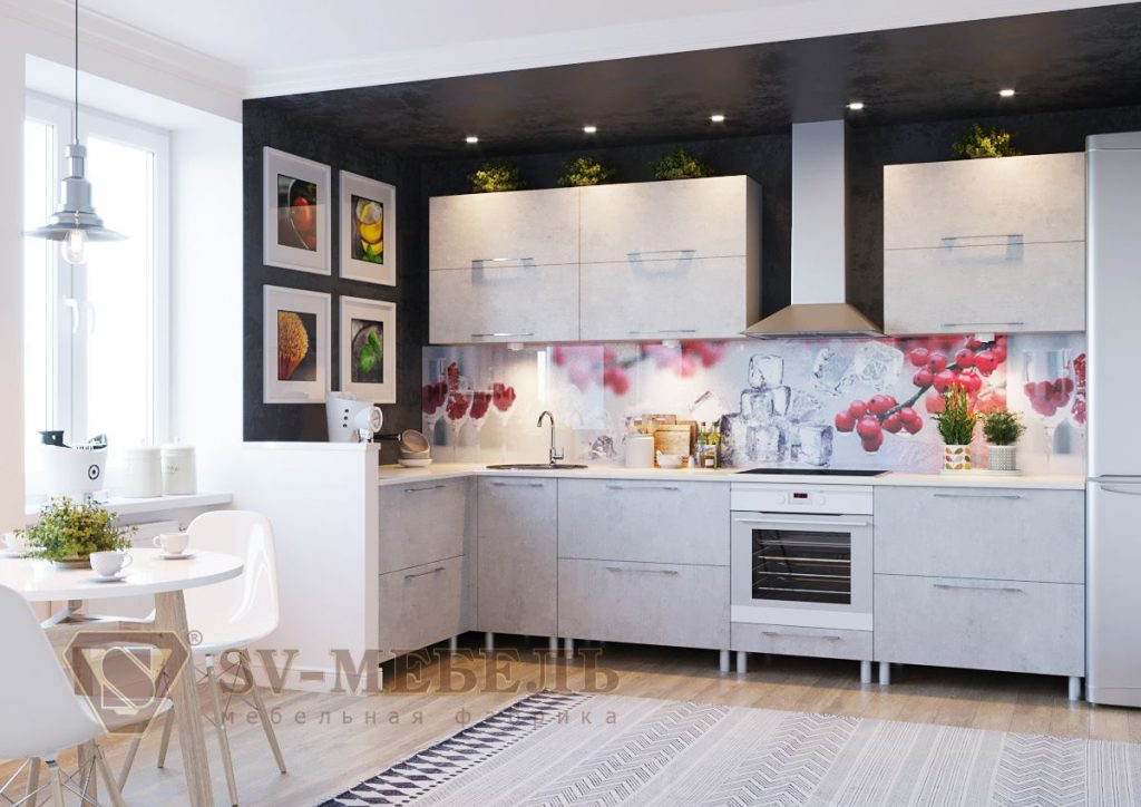 Кухня Лофт SV мебель Донецк Макеевка ДНР Colombo