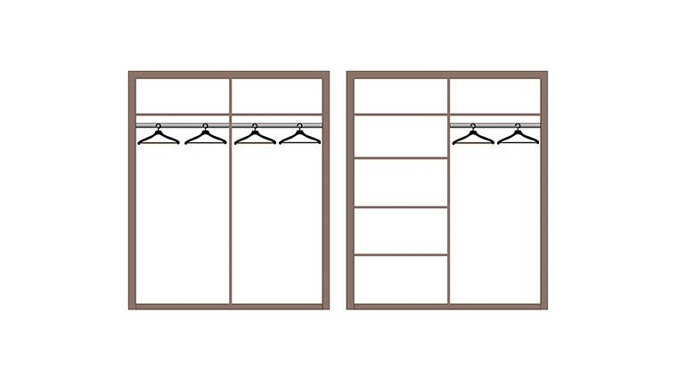Шкаф 4-х дверный Лючия 33.01