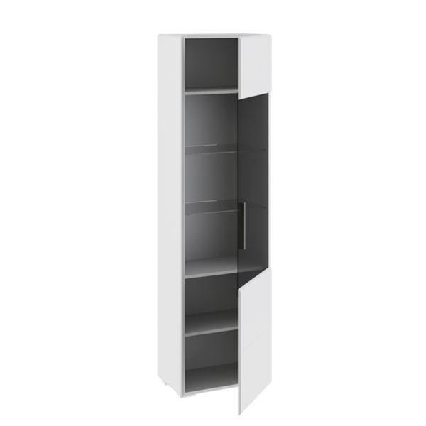 Шкаф для посуды Наоми Белый глянец