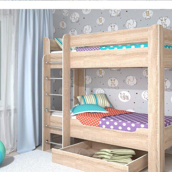 Детская кровать мийа-4 Мф Стиль Донецк Макеевка ДНР Коломбо