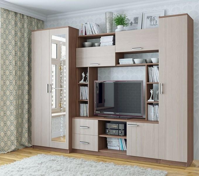 Гостиная №3 мф sv-мебель донецк макеевка ДНР Коломбо