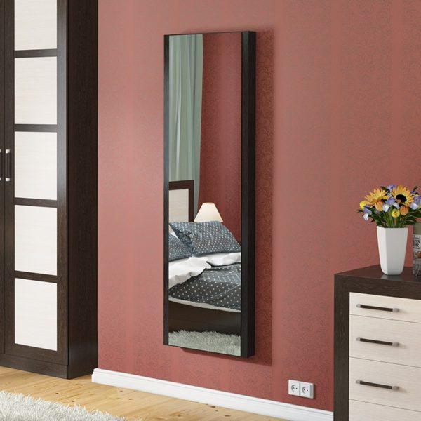 Панель с зеркалом со встроенной гладильной доской
