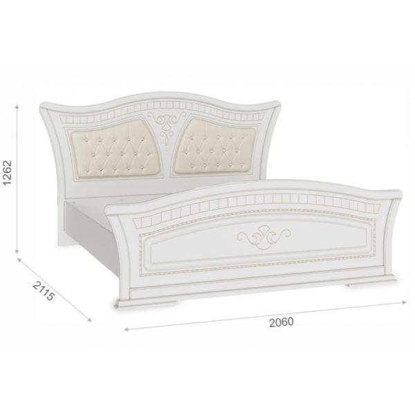 Кровать Каролина 160