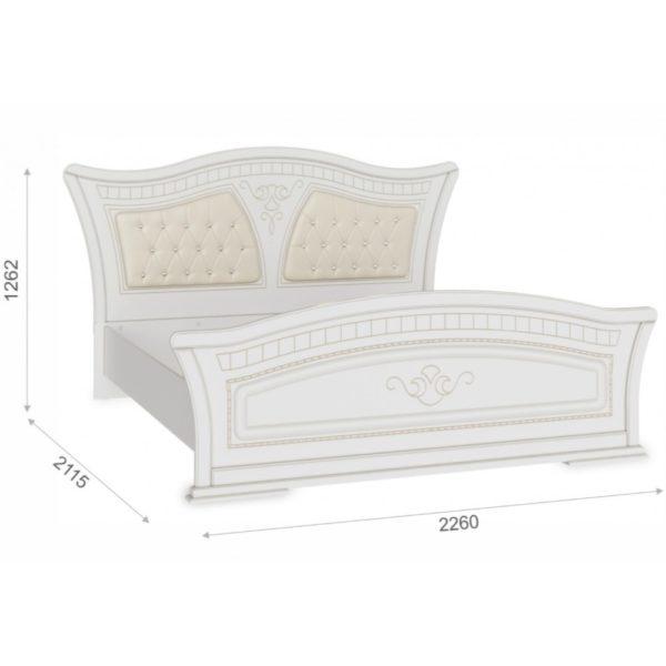 Кровать Каролина 180