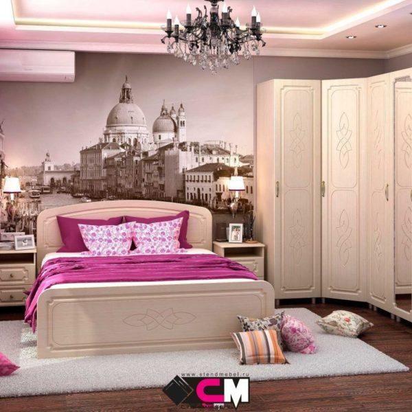 Спальня Виктория от СтендМебель в Донецке по лучшей цене интернет-магазин Коломбо