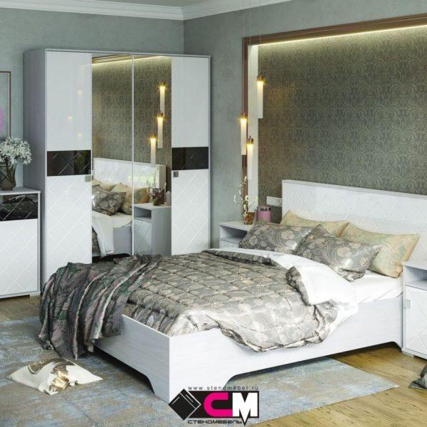 Спальня Сальма от СтендМебель в Донецке интернет-магазин Коломбо