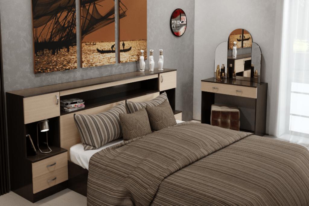 Спальня Бася ЛДСП