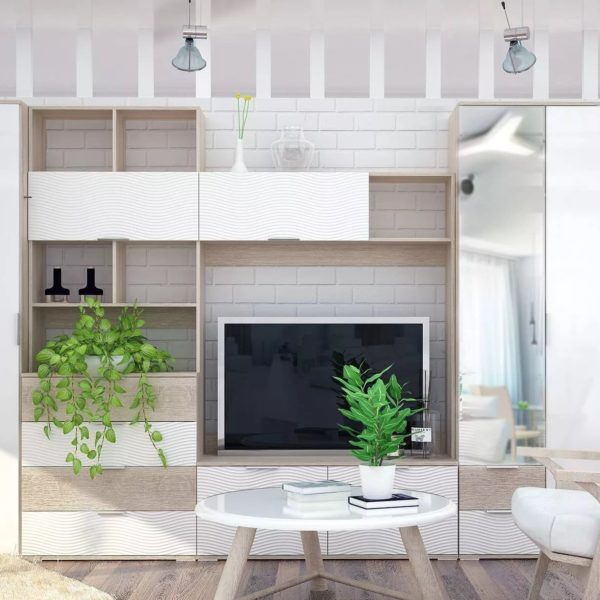 Модульная гостиная Терра от мф Сурская Мебель в Донецке интренет-магазин Коломбо